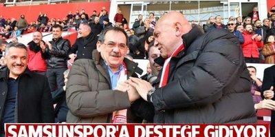Mustafa Demir takıma destek için Samsun'a gidiyor!