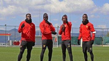 Göztepe Galatasaray maçı hazırlıklarına başladı