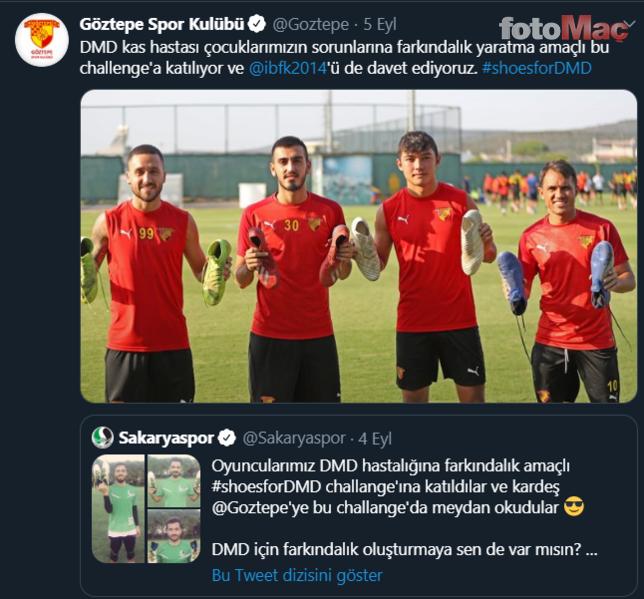 Sakaryaspor'un başlattığı zincire Sevilla da katıldı!