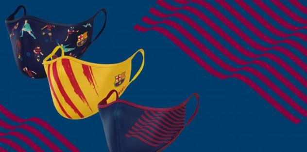 Barcelona'dan corona virüsüne özel koruyucu maske! Satışa sunuldu - Futbol -