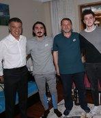 Başkan Ağaoğlu'ndan Abdülkadir Ömür'e ev ziyareti