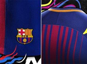 Barcelonanın yeni forması tanıtıldı