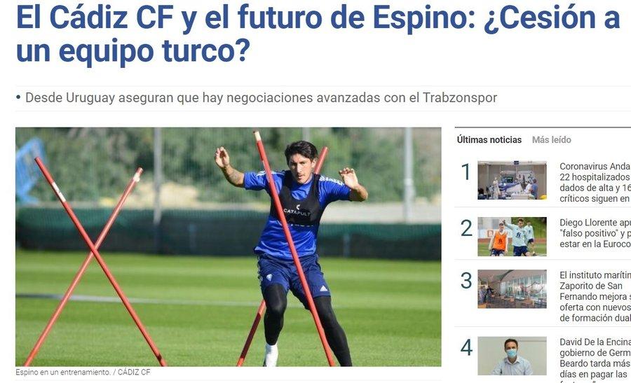 Son dakika transfer haberi: Trabzonspor'dan sol bek atağı! Alfonso Espino kiralanıyor