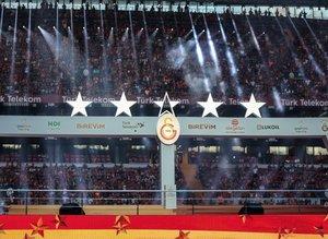 Galatasaray'ın şampiyonluk gecesinde 5. yıldız detayı!