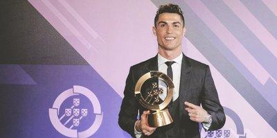 Yılın en iyisi Ronaldo