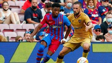 Barcelona Levante : 3-0   MAÇ SONUCU   Yusuf Demir'li Barça sahasında rahat kazandı
