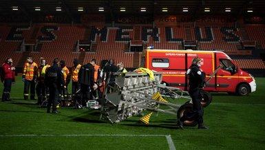 Fransa'da korkunç kaza! Lorient-Rennes maçında görevli hayatını kaybetti