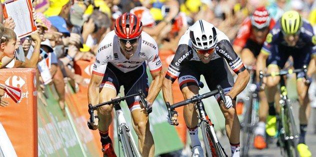 Fransa Bisiklet Turu'nun 16. etabını Matthews kazandı