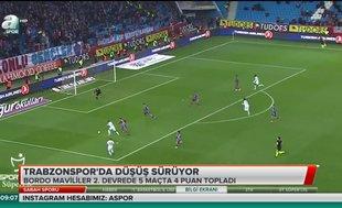 Trabzonspor'da düşüş sürüyor