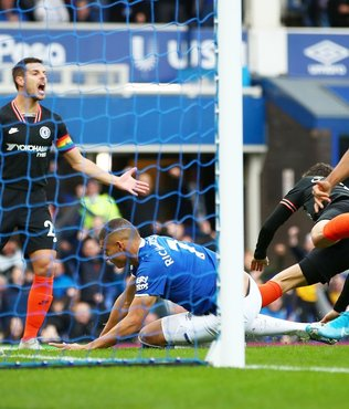 Everton 3-1 Chelsea | MAÇ SONUCU
