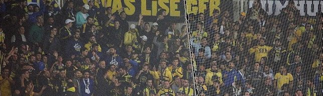 Fenerbahçeliler yalnız bırakmadı