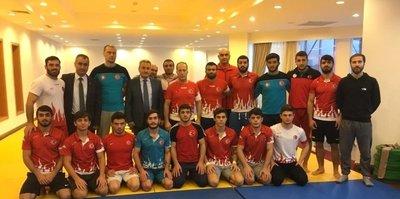 Judo milli takımı Erzurum'da kampta