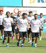 Beşiktaş Slovan Bratislava maçı hazırlıklarını sürdürdü