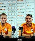 Galatasaray'ın gençlerinden Terim'e övgü