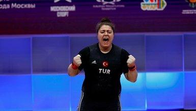 Son dakika spor haberi: Melike Günal Avrupa Halter Şampiyonası'nda 3 bronz madalya kazandı