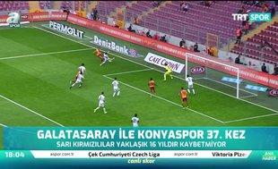 Galatasaray ile Konyaspor 37. kez