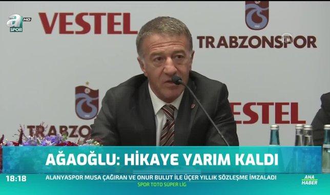 Ahmet Ağaoğlu: Hikaye yarım kaldı