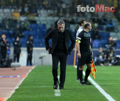 Fenerbahçe taraftarından Ersun Yanal'a büyük tepki!