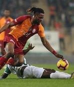 Galatasaray'ın savunması ikinci yarıda daha iyi