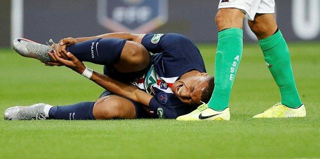 PSG'de Mbappe şoku! Sakatlığı ciddi - şoku -