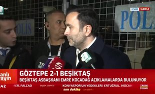 Emre Kocadağ: Beşiktaş ağlamaz