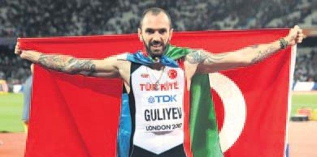 Ayın atleti adayı Gulİyev