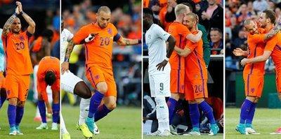 G.Saray'dan Sneijder'e kutlama