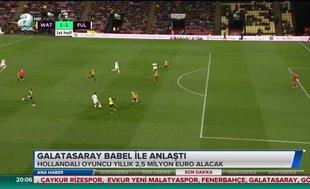Galatasaray Babel ile anlaştı