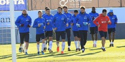Fırtına'da Antalyaspor maçı hazırlıkları sürüyor
