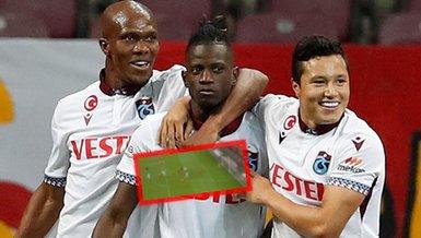 Trabzonsporlu Edgar'dan Galatasaray ağlarına müthiş gol! İşte o pozisyon...