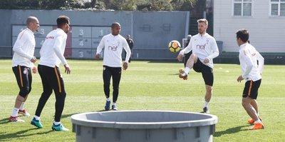 G.Saray'da Trabzonspor maçı hazırlıkları sürdü