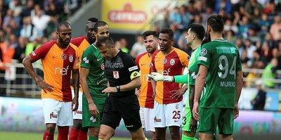 Rizespor Galatasaray maçının tekrarı için TFF'de