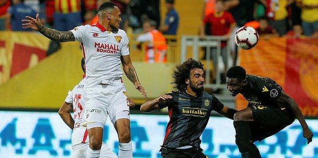 Göztepe evinde Yeni Malatyaspor'a 3-1 mağlup oldu | ÖZET