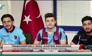 Trabzonsporlu genç Juventus'un radarında