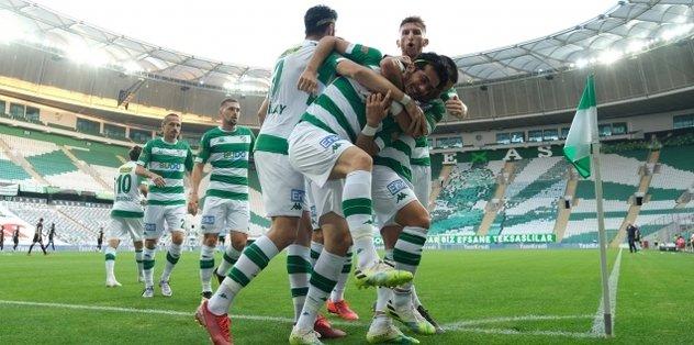 İrfan Buz ile ilk galibiyet! Bursaspor 1-0 Adanaspor   MAÇ SONUCU