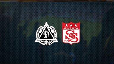 Sivasspor galibiyet peşinde! Petrocub - Sivasspor maçı ne zaman, saat kaçta ve hangi kanalda canlı yayınlanacak? Şifresiz mi?  | UEFA Konferans Ligi
