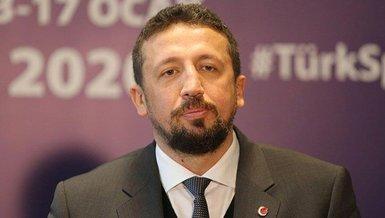 TBF Başkanı Hidayet Türkoğlu'ndan Anadolu Efes'e tebrik