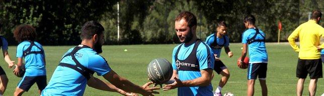 Adana Demirsporlu oyuncular laktat testinden geçti