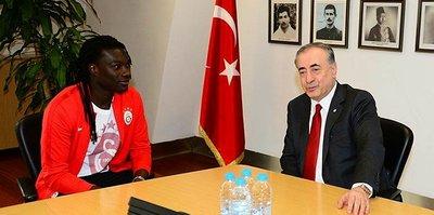 """Gomis'ten başkan Cengiz'e: """"Güveninizi boşa çıkarmayacağız"""""""