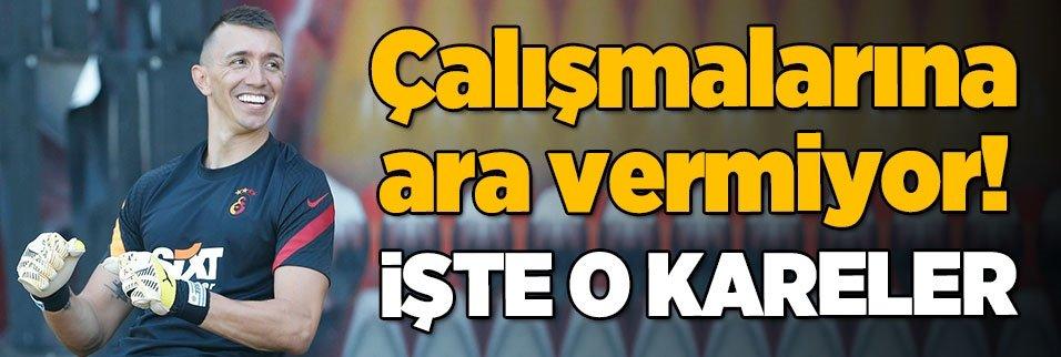 muslera calismalarina devam ediyor 1597310671791 - Son dakika... Fatih Öztürk Galatasaray'da!