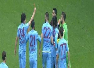Galatasaray-Trabzonspor maçına tepki yağdı!