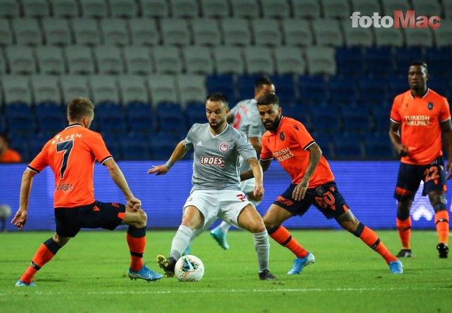 Medipol Başakşehir - Olympiakos maçından kareler!