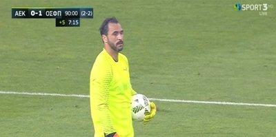 Almeida kaleye geçti, AEK finale kaldı
