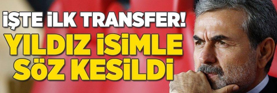 İşte Aykut Kocaman'ın ilk transferi