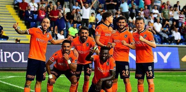 Medipol Başakşehir Göztepe maçına hazır