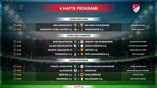 super ligde ilk 4 haftanin programi belli oldu iste saat ve tarihler 1598895456616 - Süper Lig'de ilk 4 haftanın programı belli oldu! İşte saat ve tarihler