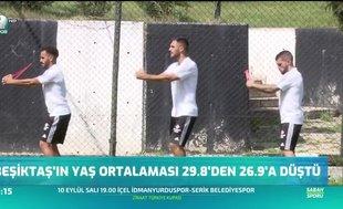 Beşiktaş gençleşti
