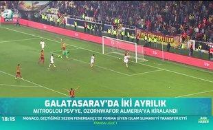 Galatasaray'da 2 ayrılık!
