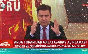 Levent Tüzemen'den Arda Turan açıklaması