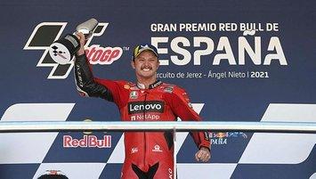 MotoGP İspanya Grand Prix'sinde kazanan Jack Miller!